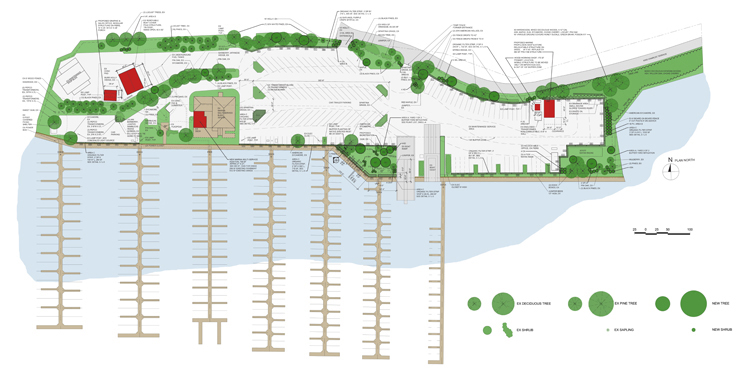 Feature photograph of Fort Washington Marina Master Plan and Stormwater Mitigation Plan