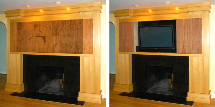 Feature photograph of Custom Home Theater Millwork and Installation